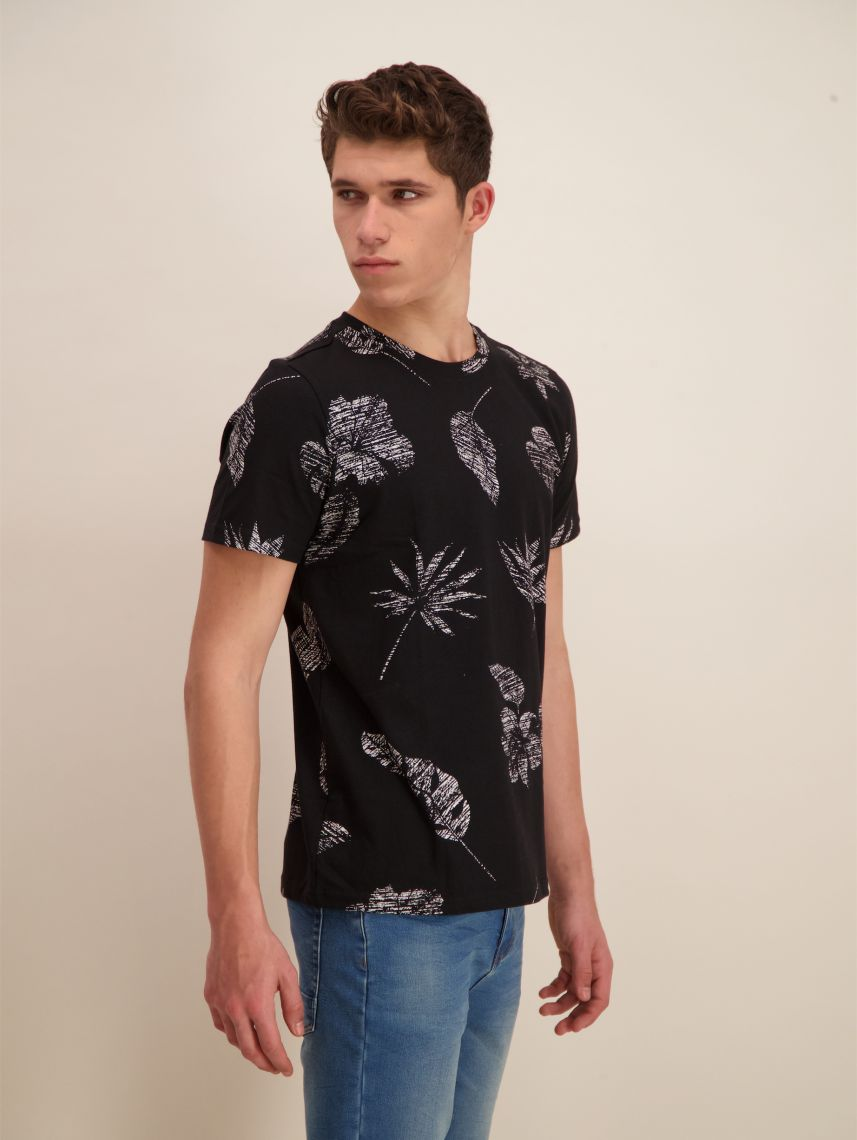 ALL OVER PRINTED T SHIRT