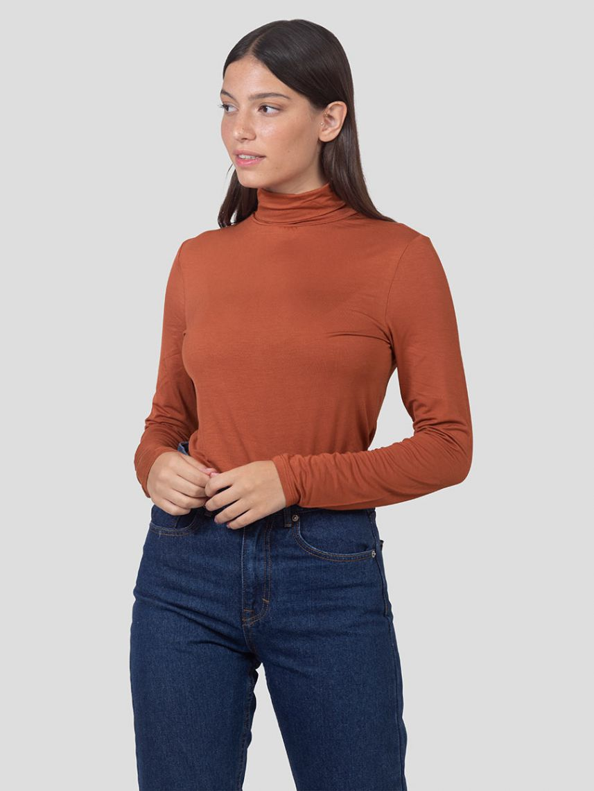 ARYA TURTLE NECK SHIRT