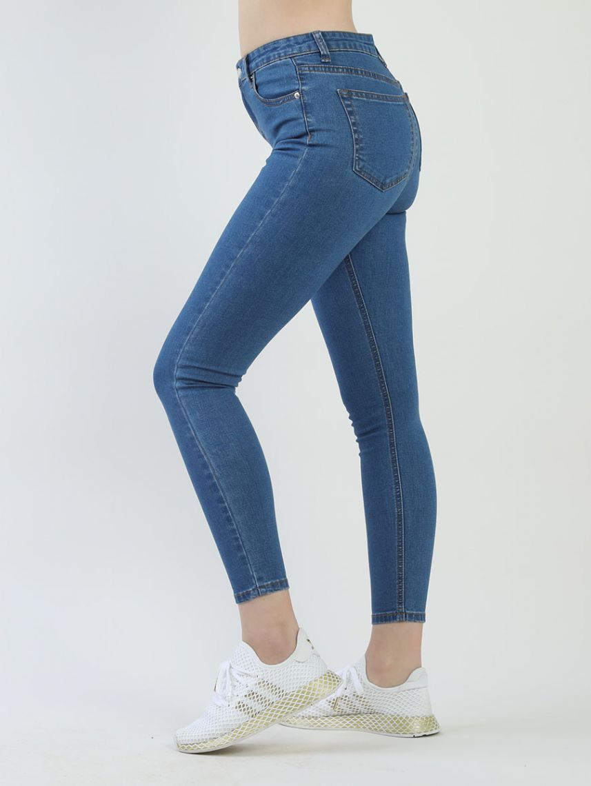 JEMMA HIGH WAIST DENIM