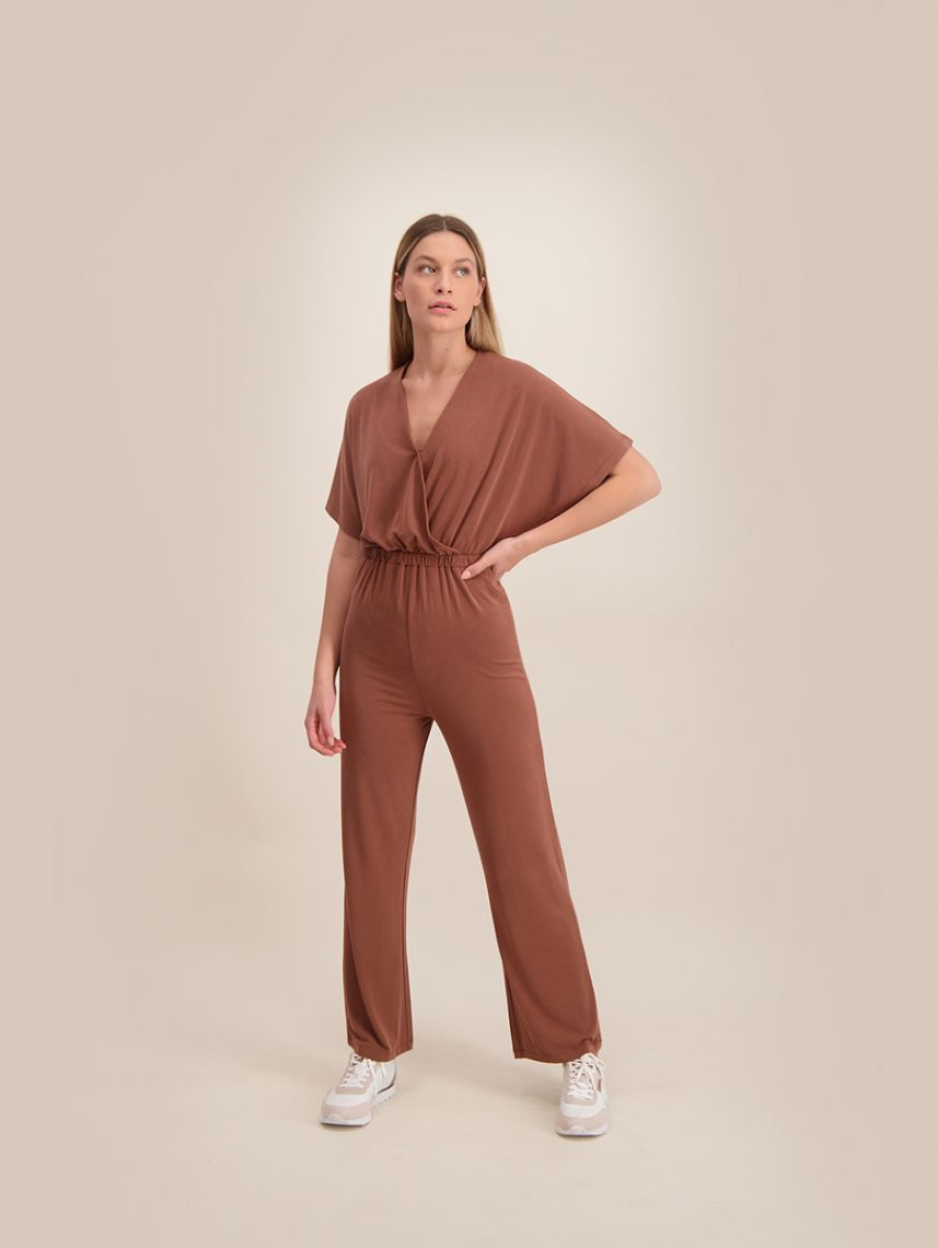 TOTALLY FAB CUPRO JUMPSUIT