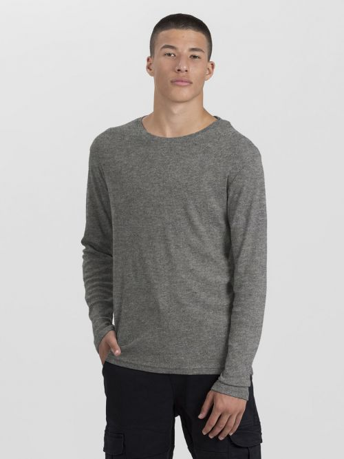 BASIC RIB CREW NECK-MEN