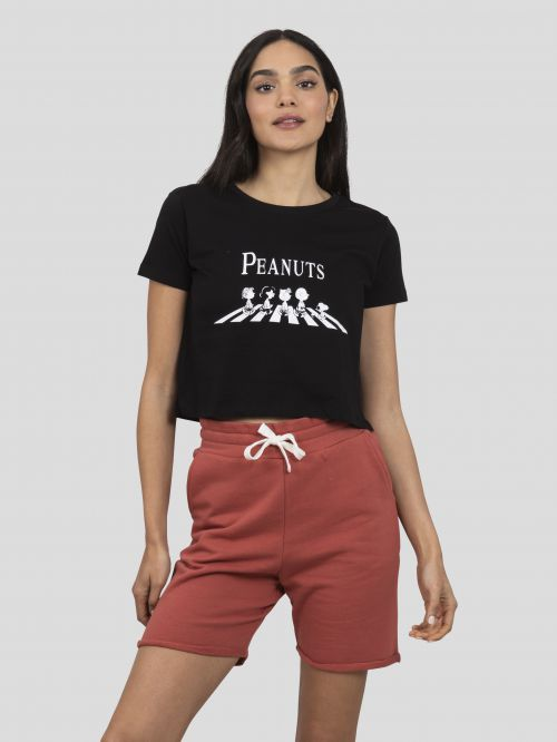 PRINTED CROPPED T