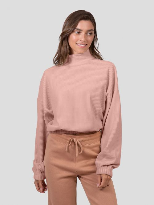 SIERRA TURTLE NECK SWEATSHIRT