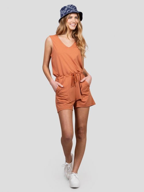 LAZY SHORT JUMPSUIT