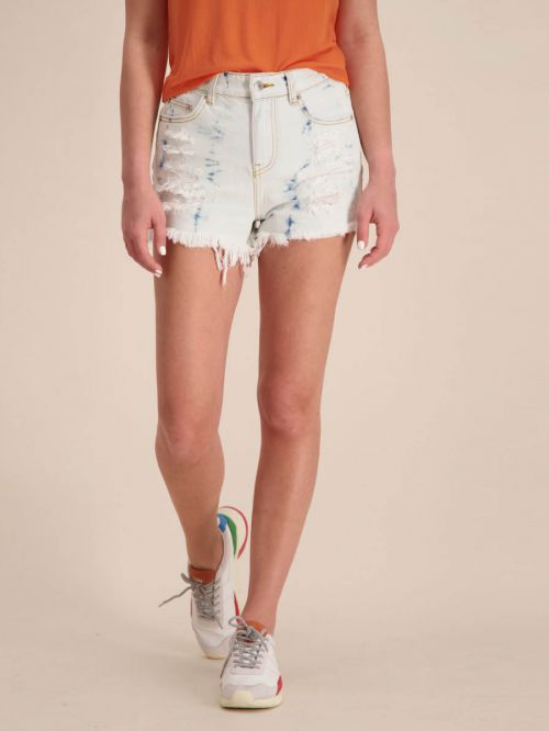 NICKI HIGH RISE DENIM SHORTS