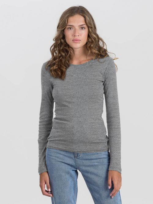 BASIC CREW NECK RIB-WOMEN