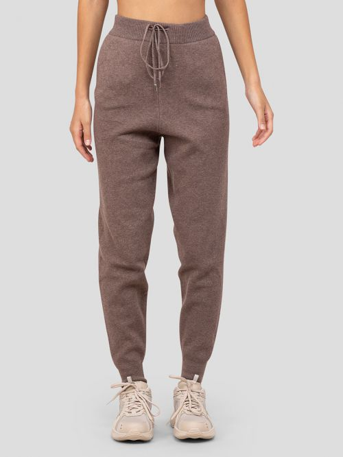 AROUND THE CLOCK KNITTED JOGGERS