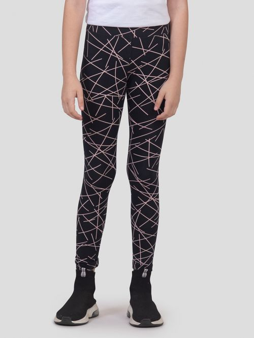 KIDS PRINTED SKINNY LEGGING