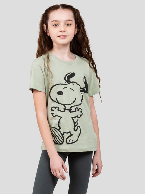 KIDS PRINTED CREW NECK T-SHIRT