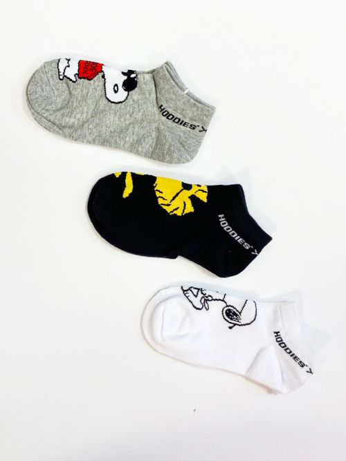 SNOOPY SNEAKERS SOCKS