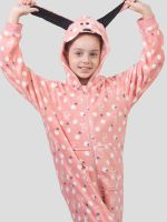 GIRLS FLUFFY ONESIE